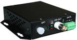 数字1路视频+1路反(双)向数据光端机